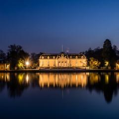 Schloss Benrath bei Nacht