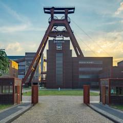 Zollverein, Eingang und Fördergerüst