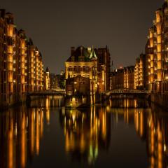 Blick aufs Wasserschloss